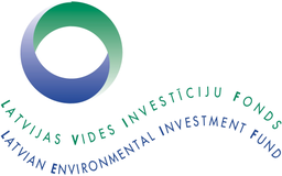 An illustration of the Latvian Environmental Investment Fund logo