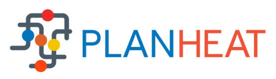 An illustration of the Planheat logo