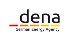 An illustration of the Deutsche Energie-Agentur logo